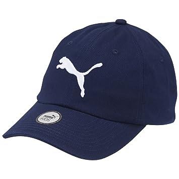 Puma Essential Cap - Gorra para niño, Color Azul/Amarillo, Talla única: Amazon.es: Zapatos y complementos