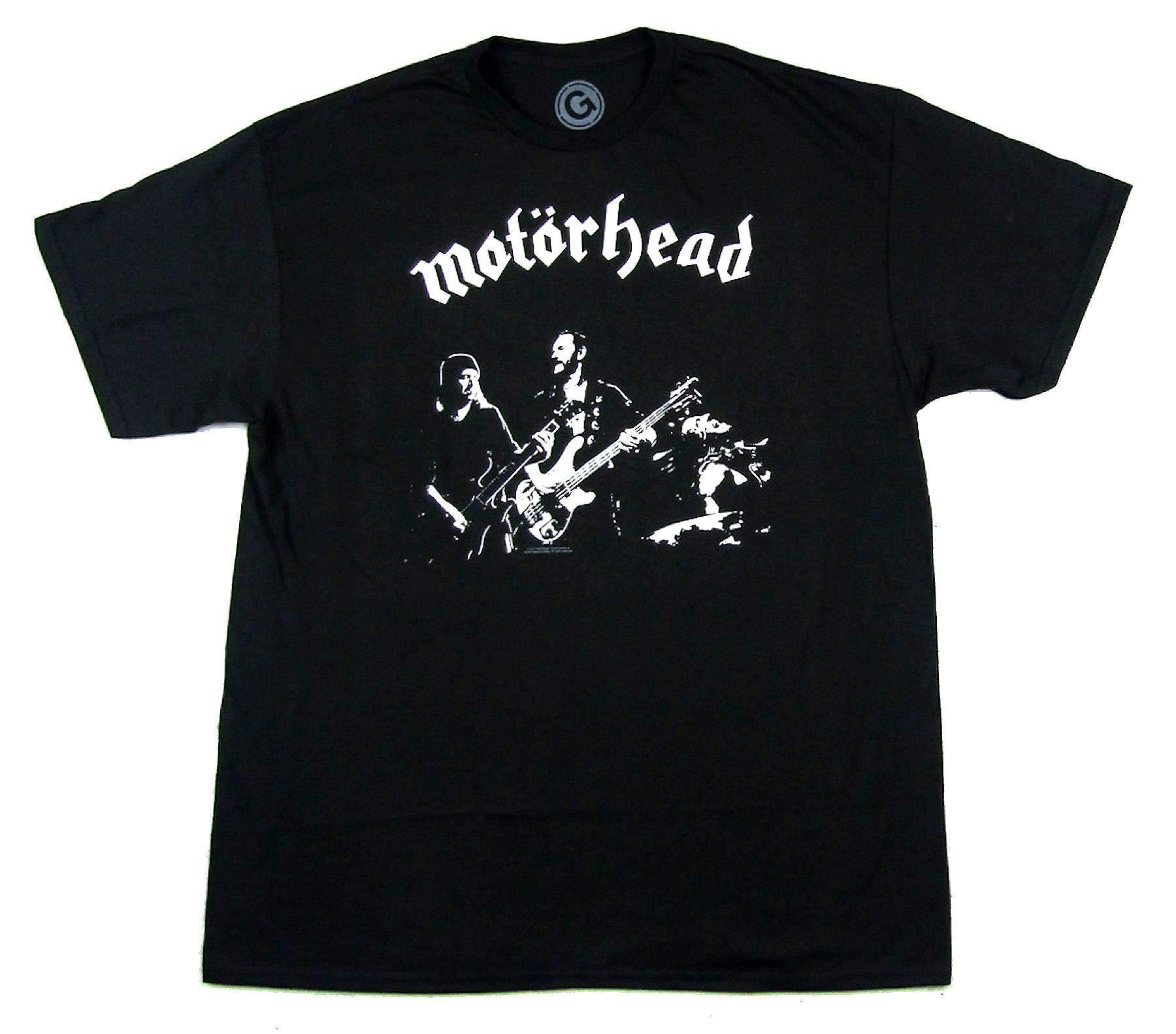Motorhead B W Band Lemmy Stage Pic T Shirt 4840
