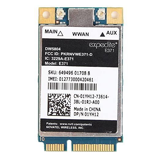 DRIVERS: ERICSSON WWAN WIRELESS MODULE DEVICE 01