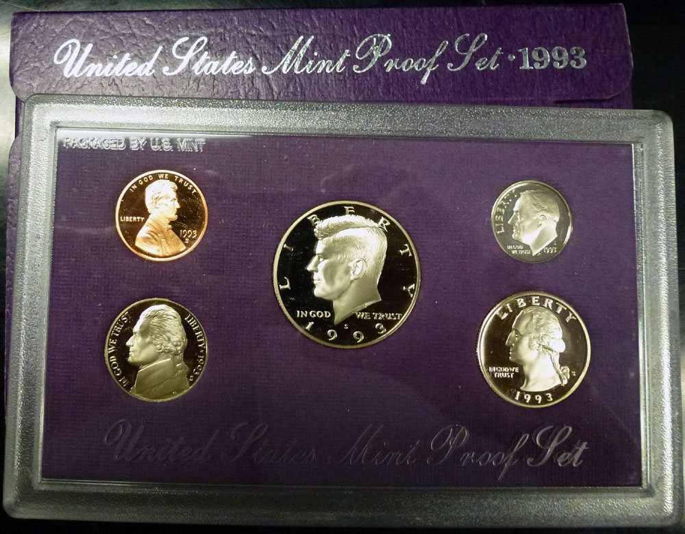 1993 US Proof Set in Original Mint Packaging FREE SHIPPING