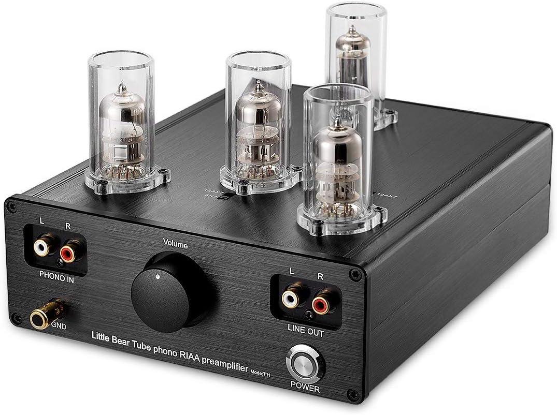 nobsound Little Bear T11 6 N2/12ax7 Vacuum & Valve Tube Phono ...