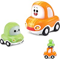 VTech Tut Cory y Chrissy Vehículo de Juguete, Color Naranja/Verde (3480-527622)