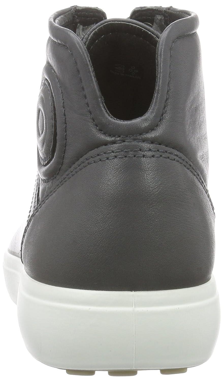 Ecco Soft 7 Men's, Sneakers Hautes Homme - Gris (Dark Shadow01602), 42 EU