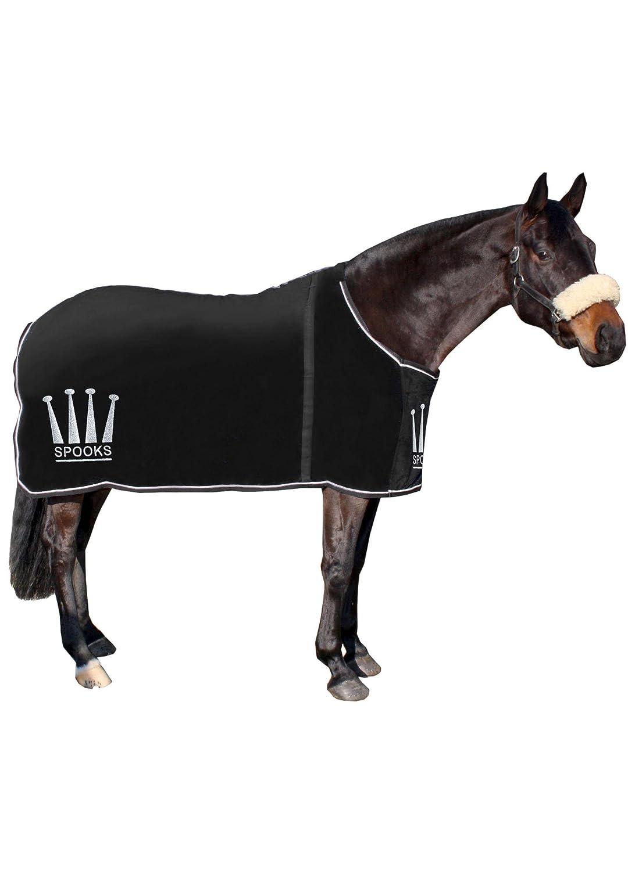SPOOKS Abschwitzdecke Blanket Crown black Größe 135/145/155