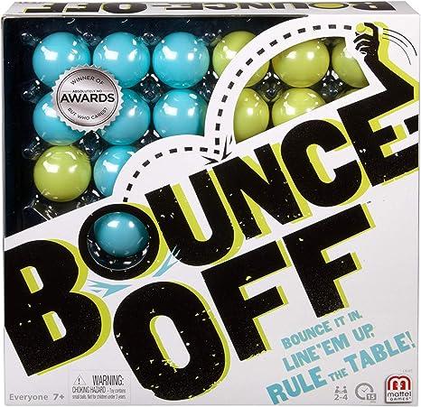 Mattel Games Bounce-Off, Juego de Mesa (Mattel CBJ83): Amazon.es: Juguetes y juegos