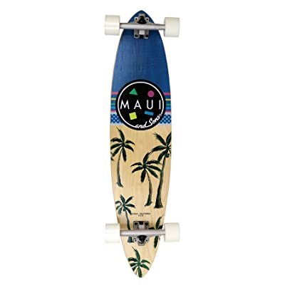 Maui And Sons Everyday Longboard Mixte Adulte, Bleu