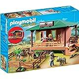 Playmobil 6936 - Caserma dei Rangers, Multicolore