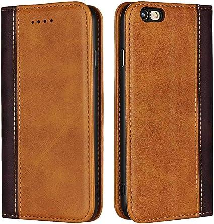 Bravoday Cover iPhone 6S Plus, Custodia iPhone 6 Plus, Cover iPhone 6S Plus Portafoglio in Pelle, [Supporto Stand] [Chiusura Magnetica] TPU Antiurto ...