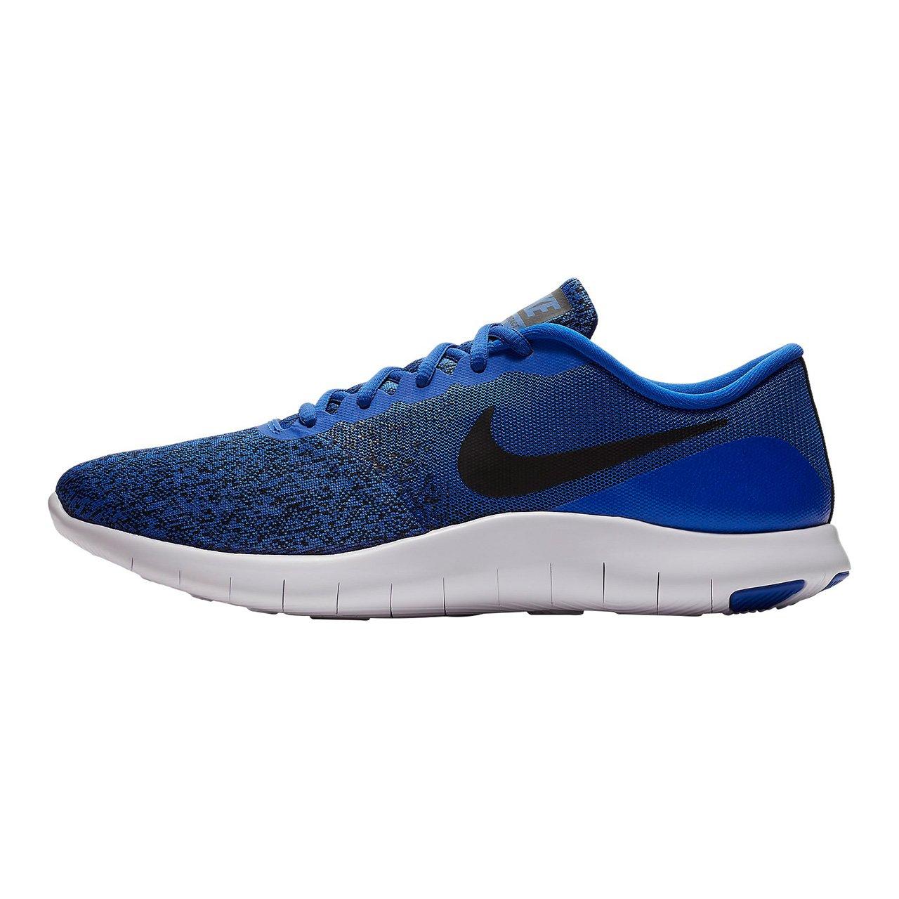 af421b9def045 Amazon.com: NIKE Mens Flex Contact Running Shoes, Racer Blue/Black ...