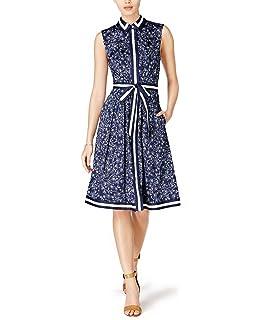 934cfa7d7e Maison Jules Womens Crepe Eyelet Sundress at Amazon Women s Clothing ...