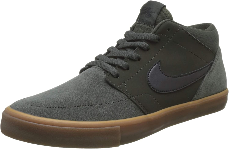 Cibo salutare luogo di nascita fucile  Nike Men's Sb Portmore Ii Solar Mid Skateboarding Shoes: Amazon.co.uk:  Shoes & Bags