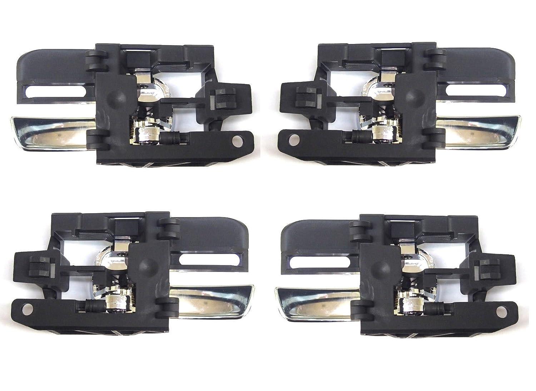 2/x izquierda y 2/x Derecho delantero y trasero Juego de 4/asas de puerta de interior