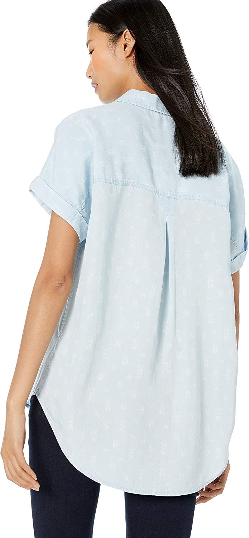 Marchio Goodthreads Tencel Short-Sleeve Shirt Donna
