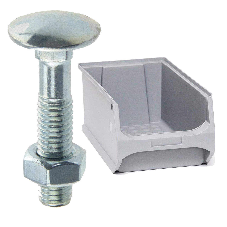 DIN 603 A 4 Flachrundschrauben mit Vierkantansatz M12x120 1 St/ück Abmessung