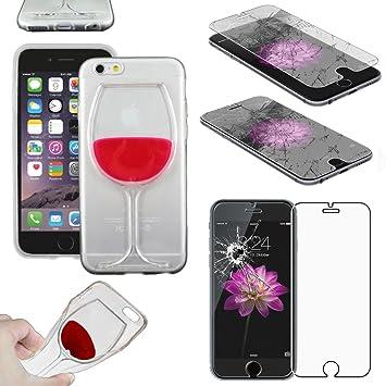 coque iphone 6 vin rouge