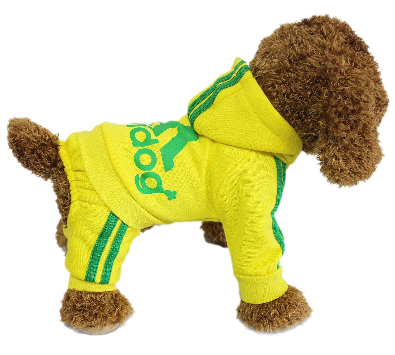 Pet Dog LifeWheel-Giacca tuta con cappuccio Outwear-Costume da gatto