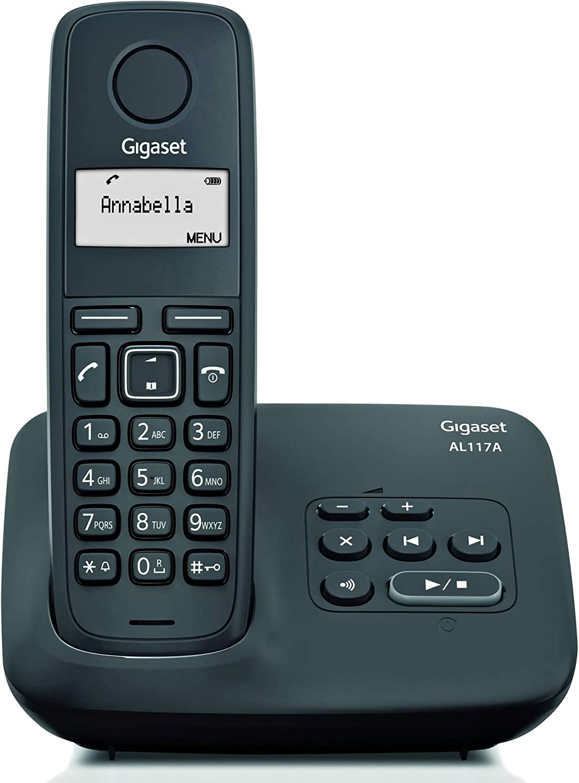 Gigaset AL117 A- Teléfono inalámbrico con contestador digital: Gigaset: Amazon.es: Electrónica