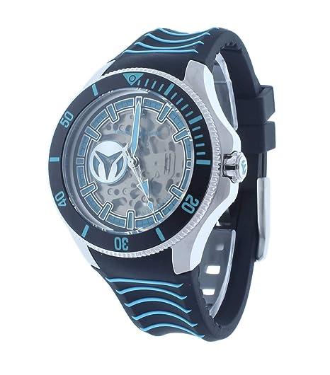 TechnoMarine Cruise Reloj de Hombre automático Correa de Silicona TM-118020: Amazon.es: Relojes