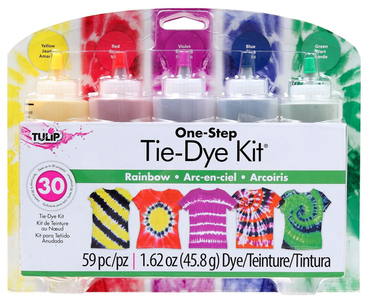 Amazon Tulip One Step Large Tie Dye Kit Rainbow Arts Crafts