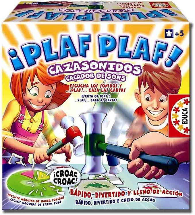 Educa 646578 - Juego Plis Plas Caza Sonidos: Amazon.es: Juguetes y juegos