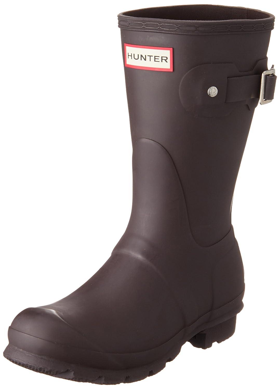 Hunter Women's Original Short Rain Boot B015SJ65GA 11 B(M) US Bitter Chocolate