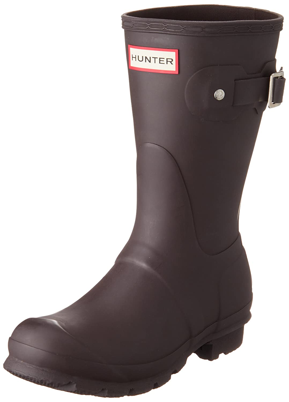 Bitter Chocolate Hunter Original Short Boot Snow Boot