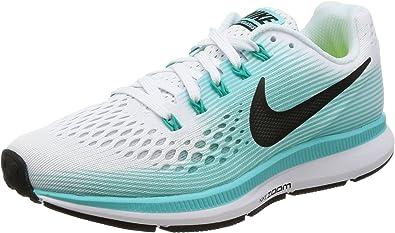 Nike Women's Air Zoom Pegasus 34 Running Shoe WhiteGreen (6)