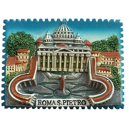 San Pietro Vaticano Roma Italia Europa mundo viaje resina 3d ...