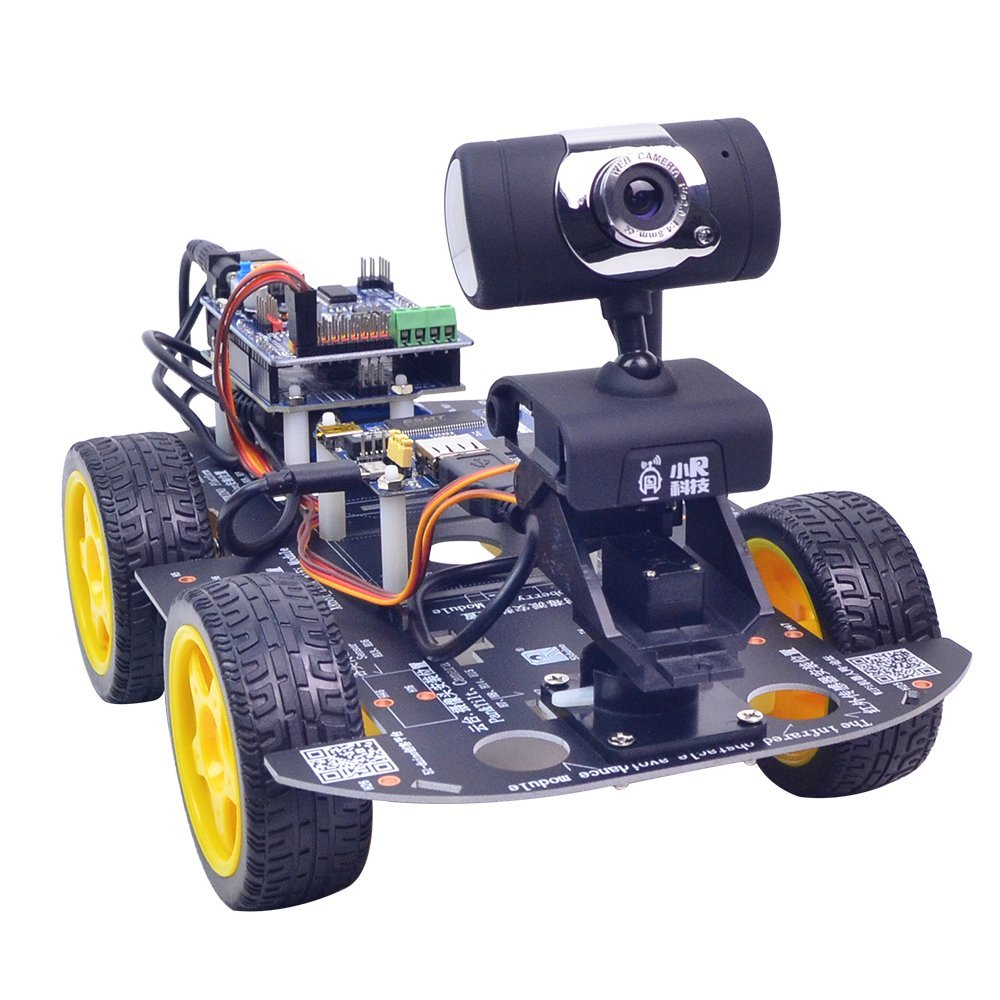 XiaoR Geek DS WiFi Smart Robot Car Kit for Arduino UNO R3,Remote Control HD Camera FPV Robotics Learning & Educational Electronic Toy by XiaoR Geek (Image #6)