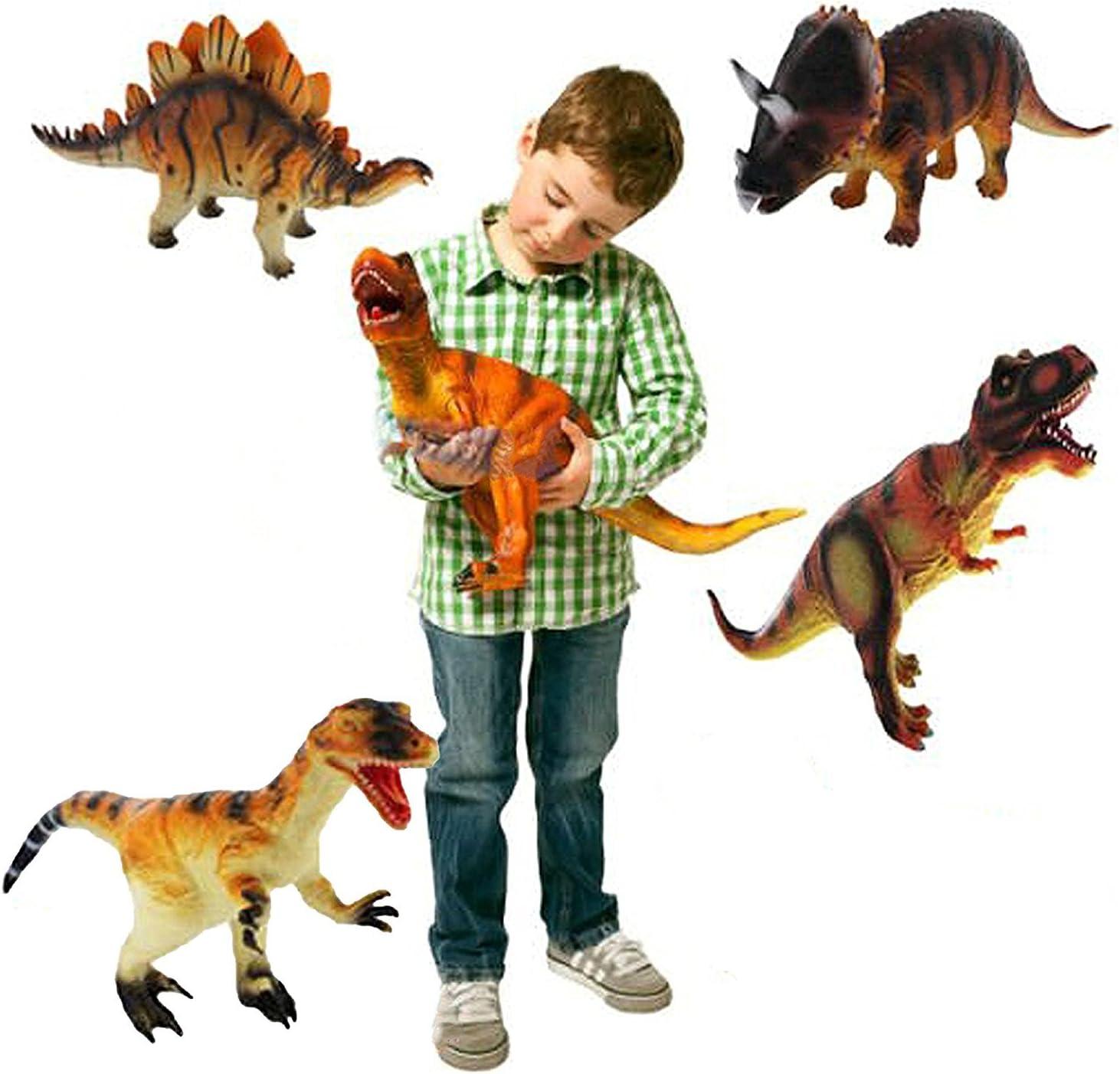 Grandes Dinosaurios Plasticas Animales Para Ninos Figura De Juguete Aleatoria 1 Pieza Toy Amazon Es Juguetes Y Juegos Los dinosaurios están muy bien conseguidos y destacan por ser bastante grandes a pesar de su precio, concretamente miden 18 cm, perfectos para que tu hijo se lo pueda pasar realmente bien imaginando aventuras. grandes dinosaurios plasticas animales para ninos figura de juguete aleatoria 1 pieza toy