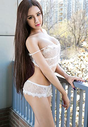 779415e8c8528 Sexy Lingerie Baby Doll Bodysuit For Women White Small Chest Lace Sexy  Transparent Pajamas Harness Extreme Temptation Underwear Suit ( Color   A  )  ...