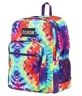 Amazon.com: Jansport Trans Tie Dye Backpack Sport School: Basic ...