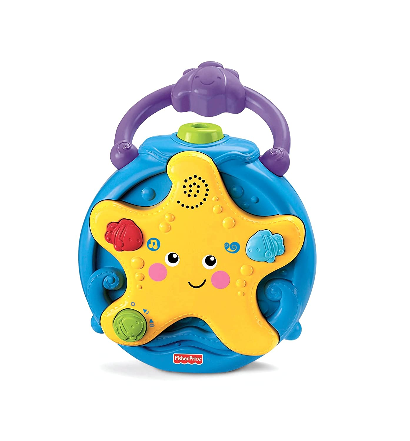 Fisher Price Ocean Wonders Take Along Projector Soother mar-roc P5600