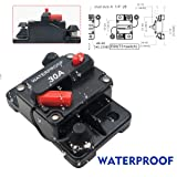 MASO 30 Amp Waterproof Car Circuit Breaker with
