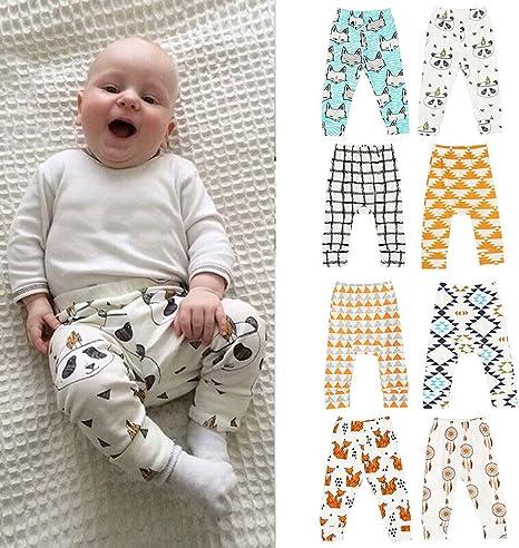 EXIU Baby Boys Girls Animal Pattern Harem Pants Trousers Leggings 0-2Y