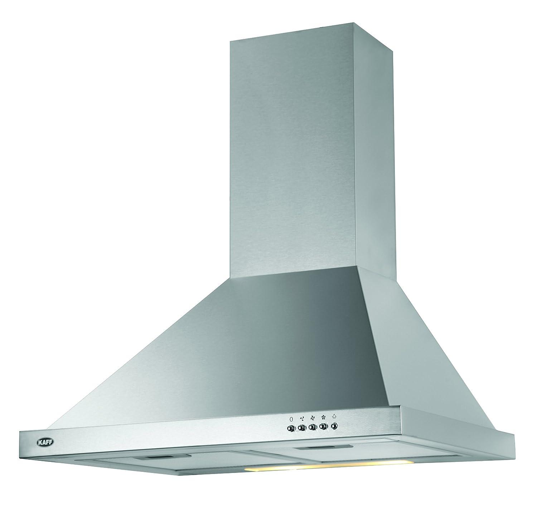 Kaff Kitchen Chimney 60 Cm 1000 M3/H (Elbaa Mx 60, Stainless Steel ...