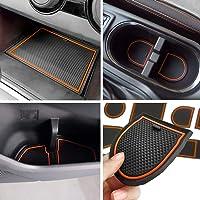 Anti-dust Door Mats for 2018 up Subaru Crosstrek and Impreza Gate Door Liners Inserts Cup Console Mats interior…