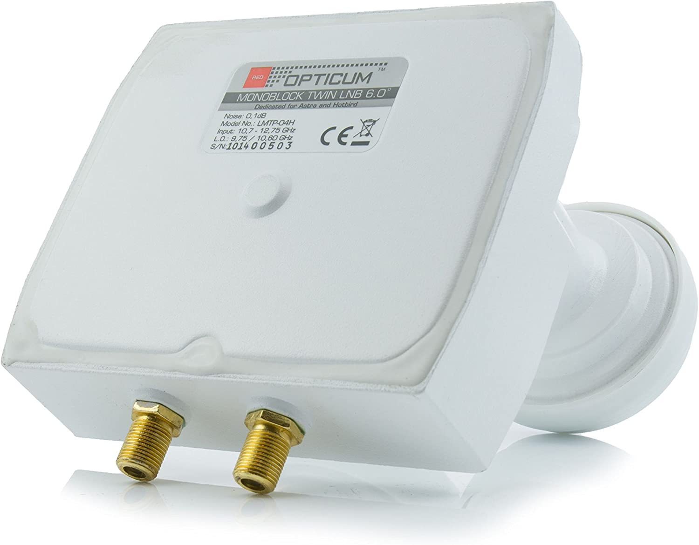 Opticum Qa80 Sat Antenne Stahl Anthrazit Elektronik