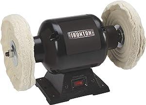 Ironton 8in. Benchtop Buffer - 3/4 HP, 110V, 3450 RPM