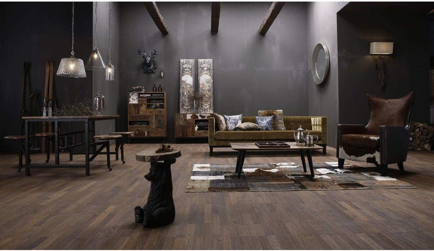 52x35x35cm Kare Design H // W // D tavolino rotondo piccolo tavolino Animal Koala aspetto legno figura animale come insolito tavolo da soggiorno /Ø33cm