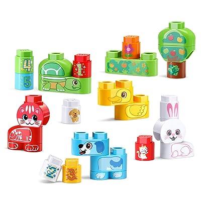 LeapFrog LeapBuilders Pet Pals, Multicolor: Toys & Games
