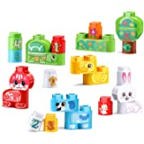 Leapfrog LF80-605600 Leapbuilders Pet Pals Building Blocks Set