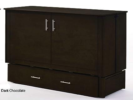 Amazon Com Night Day Furniture Sagebrush Murphy Cabinet Bed With