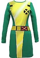 Marvel Comics X-Men I Am Rogue Juniors Bodycon Cosplay Costume Dress