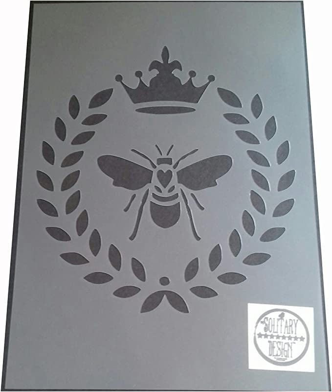C/œurs style shabby chic Pochoir Bee style vintage rustique A4/297/x 210/mm Meubles Art Fran/çais
