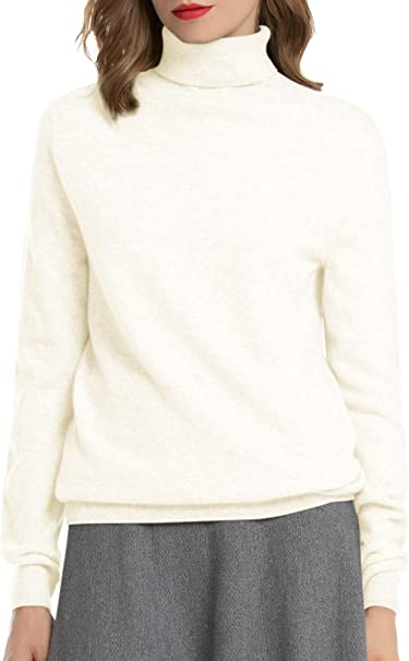 State Cashmere Damen Strickpullover mit V-Ausschnitt 100/% reinem Kaschmir Feinstrick Langarm Rippen Pullover