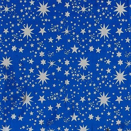Moranduzzo Cielo Stellato per Presepe con Stelle Argentate