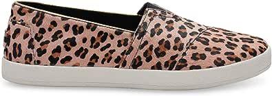 TOMS Women's Leopard Printed Calf Hair Avalon 10006325