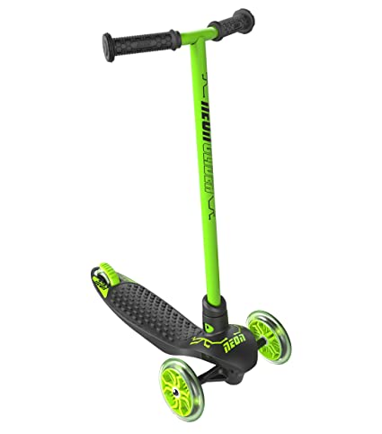 Yvolution Neon Glider by Vybe | LED Kids Scooter