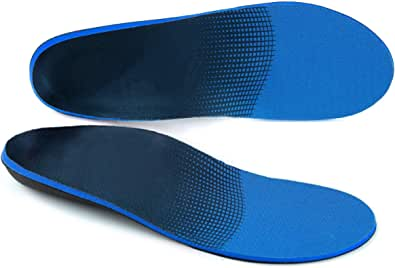 Arch Support s Feet Insoles, Plantar Fasciitis Shoe Insoles Orthotic for Plantar Fasciitis, Flat Feet, High Arch, Pronation, Heel Spurs & Foot Pain